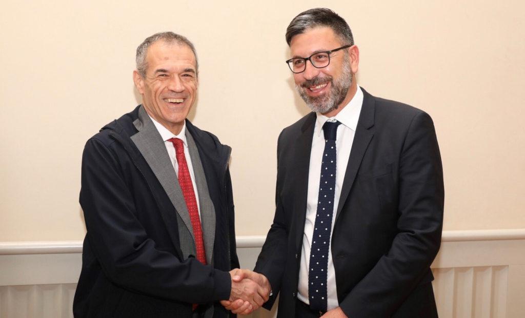 Carlo Cottarelli Dario ostantini
