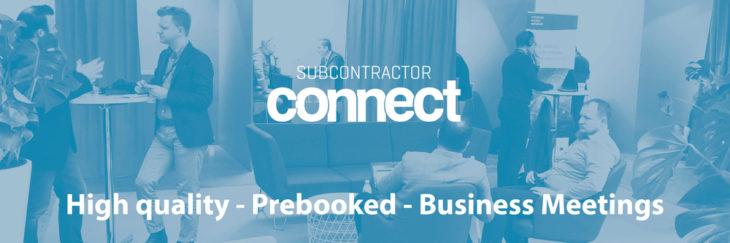 subcontractor connect prebooked