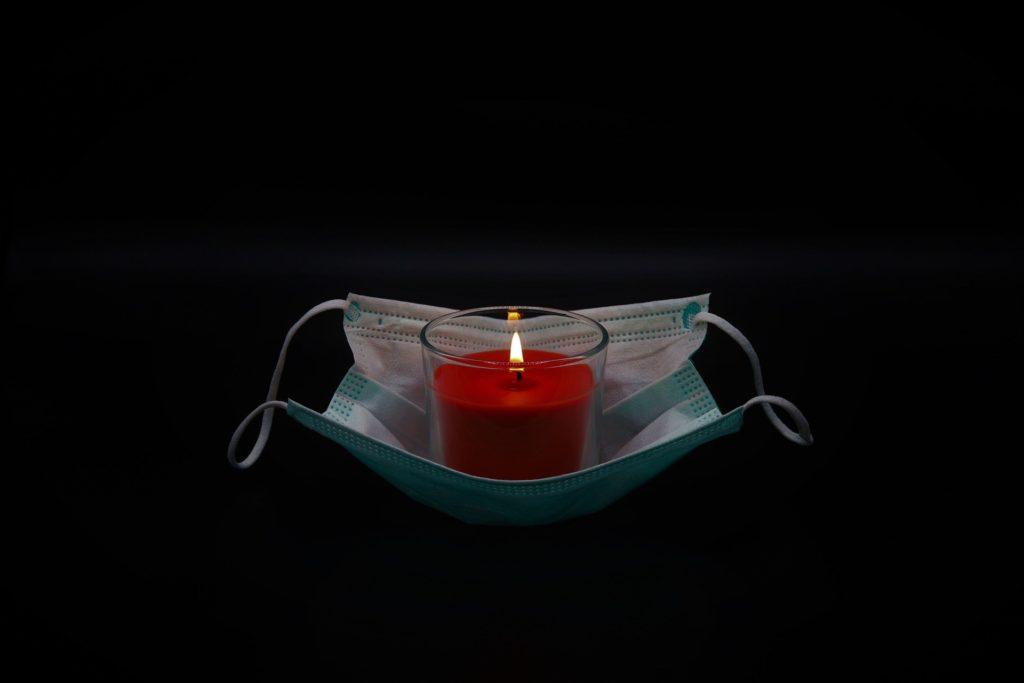 in memoria delle vittime Covid