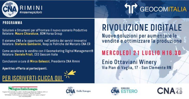 CNA Hub 4-0 Rimini rivoluzione digitale